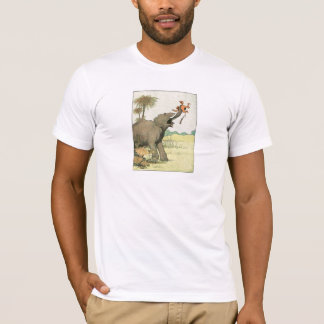 Elephant and Poacher in the Jungle T-Shirt