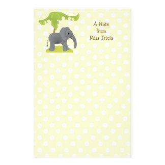 Elephant and Tree Stationery