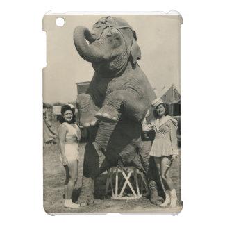 Elephant and Two Ladies Mini Ipad Case iPad Mini Case