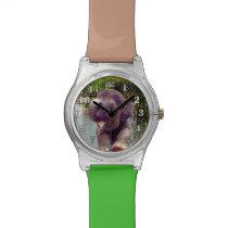 Elephant and Water Wristwatch