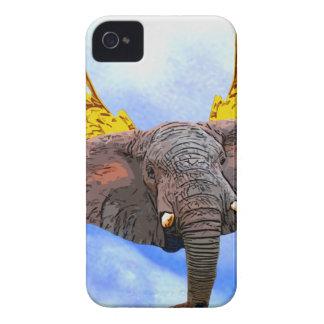 Elephant Angel Case-Mate iPhone 4 Case