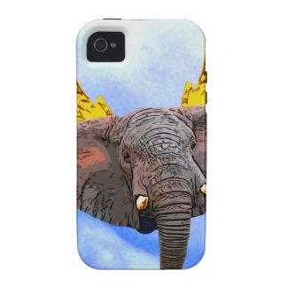 Elephant Angel iPhone 4 Cases