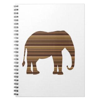 ELEPHANT Animal Tree Trunk Zoo Kids NVN699 FUN Spiral Notebooks