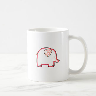 ELEPHANT APPLIQUE MUGS