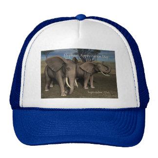 Elephant Appreciation Day Cap September 22