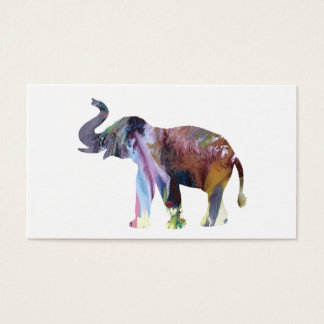 Elephant Art Business Card