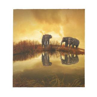 Elephant Art Memo Pads