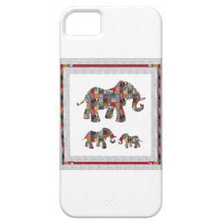 ELEPHANT Artistic Collection Patches KIDS NVN478 b iPhone 5 Cases