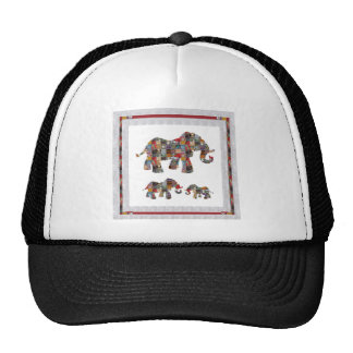 ELEPHANT Artistic Collection Patches KIDS NVN478 b Mesh Hat