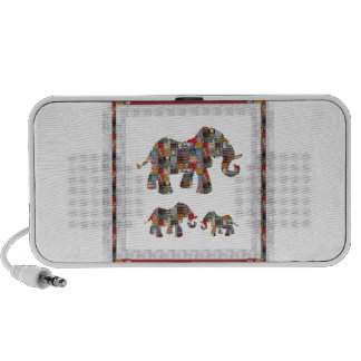ELEPHANT Artistic Collection Patches KIDS NVN478 b Portable Speakers