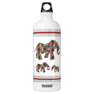 ELEPHANT Artistic Collection Patches KIDS NVN478 b Water Bottle
