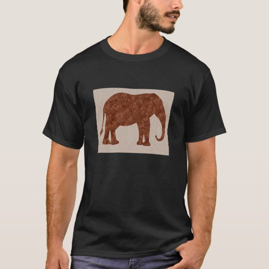 ELEPHANT : ArtWork on Copper Sheet T-Shirt