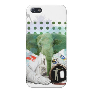 Elephant Astronaut Case For iPhone SE/5/5s