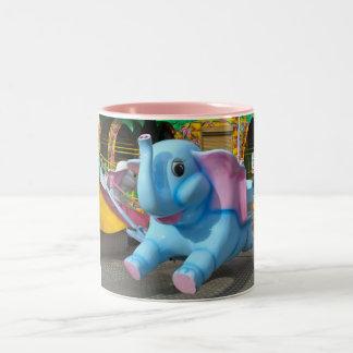 Elephant at a Funfair Mug