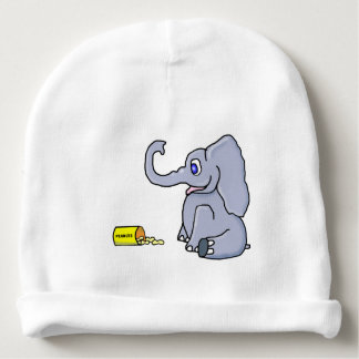 Elephant Baby Beanie