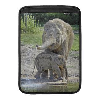 Elephant Baby Gets Shower MacBook Sleeve
