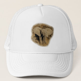 Elephant baby safari hats & peak caps