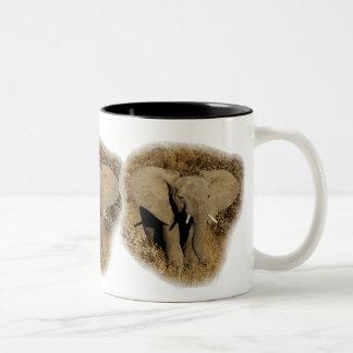Elephant baby safari mugs cups