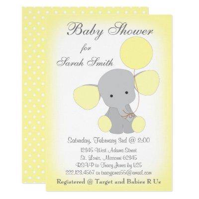 Fancy elephant baby shower invitation zazzle filmwisefo
