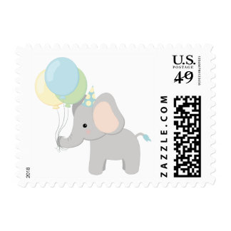 Elephant Baby Shower Stamps