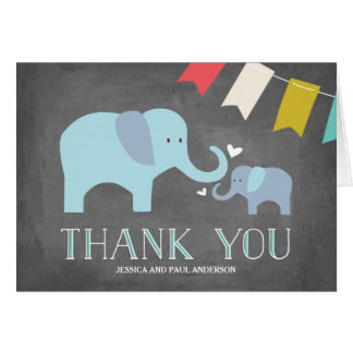 Elephant Baby | Thank You Card