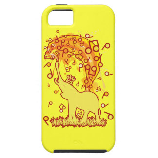 Elephant_Bathing iPhone 5 Cases