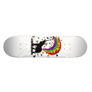 Elephant_Bathing Skateboard Deck