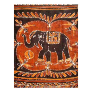 Elephant Batik Letterhead
