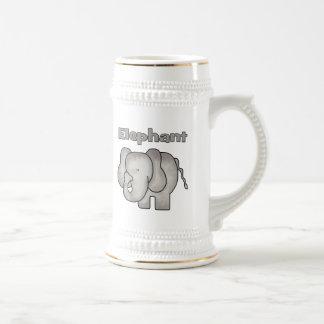 Elephant Beer Stein