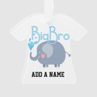 Elephant Big Bro Ornament