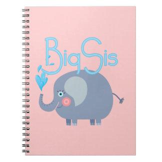 Elephant Big Sis Spiral Notebook