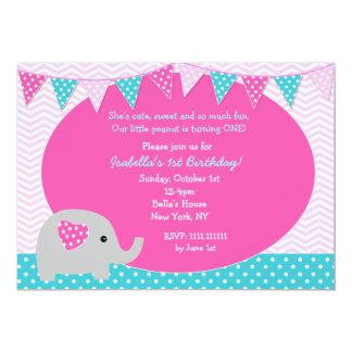 Elephant Birthday Invitations & Announcements   Zazzle