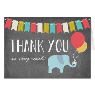Elephant | Birthday Thank You Card