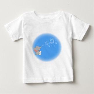 Elephant blowing bobbles infant t-shirt