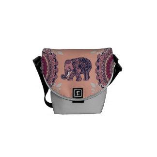Elephant BOHO Bag Courier Bags