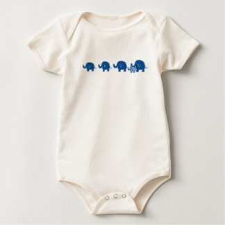 elephant-boy baby bodysuit