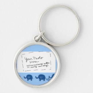 elephant-boy keychain