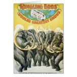 Elephant Brass Band - Vintage Show Poster