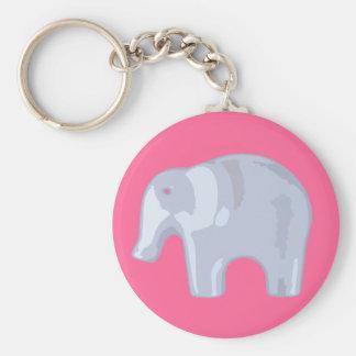 Elephant Bubble Keychain