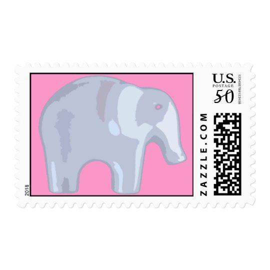 Elephant Bubble Postage