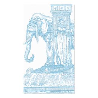 Elephant Buddha Quotation Business Card