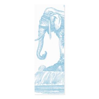 Elephant Buddha Quote Mini Business Card