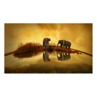 Elephant Double-Sided Standard Business Cards (Pack Of 100)