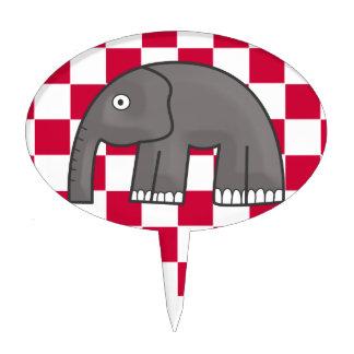 elephant cake picks