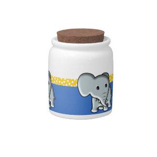 Elephant Candy Dish