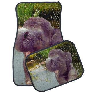 Elephant Car Mats Set of 4