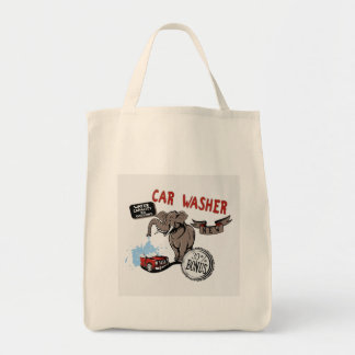 Elephant Car Washer - Funny New Invention Tote Bag