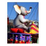 Elephant Carnival Postcard