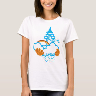 Elephant castle in the air T-Shirt