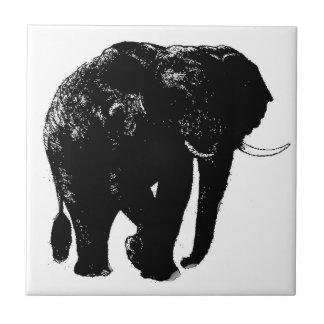 Elephant Ceramic Tile